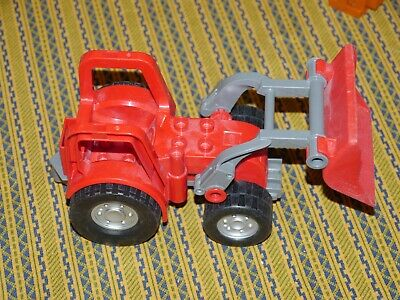 AU27.59 • Buy Lego Duplo Red Tractor With Front End Loader
