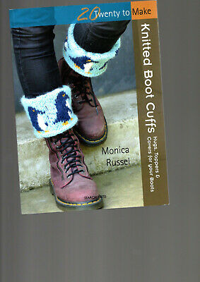 £0.99 • Buy Knitted Boot Cuffs 20 Projects To Make Knitting By M Russel Hobbies
