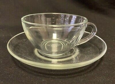 £5 • Buy Arcoroc Vintage Glass Cup And Saucer