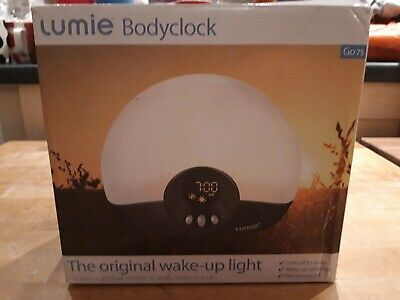 £20 • Buy Lumie Bodyclock Go75 The Original Wake Up Light * Used Once**