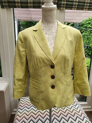 £10 • Buy New With Tags Marks And Spencer Per Una Linen Jacket Size 14