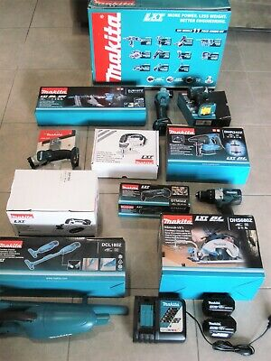 AU390 • Buy Makita 11pc Combo DLX1101T Power Tools Mostly New Inc Chain Saw