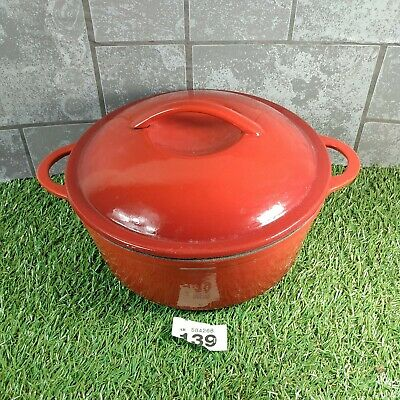 £30 • Buy Cast Iron Casserole Dish And Lid