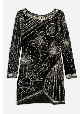 £20 • Buy Topshop Odyssey Embellished Dress 12 RRP£120 Immaculate Condition, Worn Once.