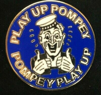 £1.99 • Buy Rare Portsmouth Play Up Pompey Sailor Enamel Pin Badge