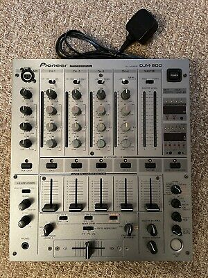 £99.99 • Buy Pioneer DJM-600-S [Silver] 4 Channel Effects Mixer. Original Box & Instructions
