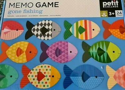 £5.99 • Buy Petit Collage Childrens Cards Matching Game. Gone Fishing Age 3+