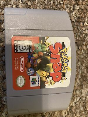 $34.85 • Buy Pokemon Snap N64 (64, 1999) Authentic, Cleaned & Working!
