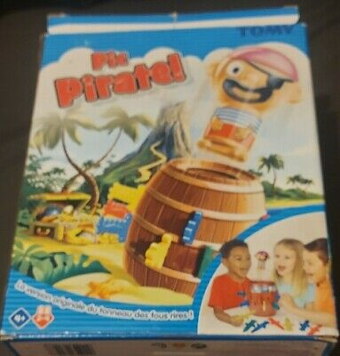 £10 • Buy TOMY Games  TOMY Pop Up Pirate Classic Children's Action Board Game Toy