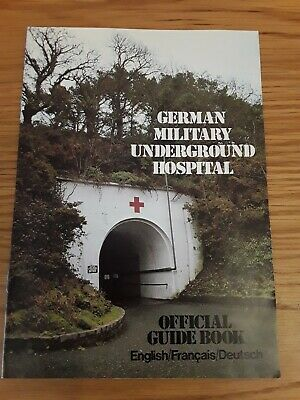 £4.95 • Buy German WWII Military Underground Hospital Jersey Official Guide Book Booklet 80s