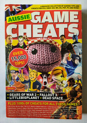 """AU16.50 • Buy Aussie Game Cheats Volume 1 – Adam Smith, 2009 """"A Massive Collection Of Gaming.."""
