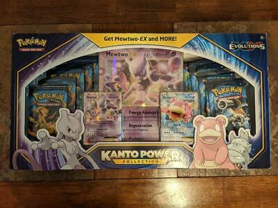 $169.99 • Buy Pokemon Kanto Power Collection Box - Mewtwo EX - Evolutions - Factory Sealed