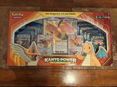 $169.99 • Buy Pokemon Kanto Power Collection Box - Dragonite EX - Evolutions - Factory Sealed