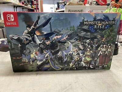 AU499 • Buy Monster Hunter Rise Limited Edition Nintendo Switch Console - AUS