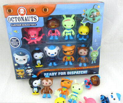 £4.77 • Buy 8PC Octonauts Expedition Action Figure Kid Childrens Toy Doll Gift Collection