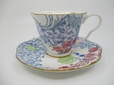£29.04 • Buy WEDGWOOD BUTTERFLY BLOOM CUP & SAUCER - 3  X 3 5/8   0606E