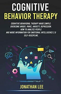 £13.29 • Buy Cognitive Behavior Therapy (CBT) By Lee, Jonathan Book The Cheap Fast Free Post