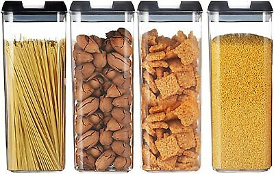 £13.99 • Buy 4/7x Containers Airtight Food Storage Kitchen Accessories Cereal Tub Lid