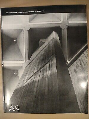 £7.49 • Buy The Architectural Review 938 April 1975 Magazine Halifax Hg By BDP
