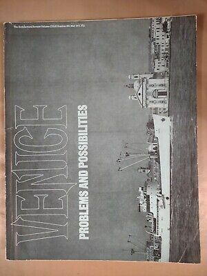 £7.49 • Buy The Architectural Review 891 May 1971 Magazine Venice Problem And Possibilities.