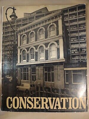 £7.50 • Buy The Architectural Review 886 December 1970 Magazine European Conservation Year.