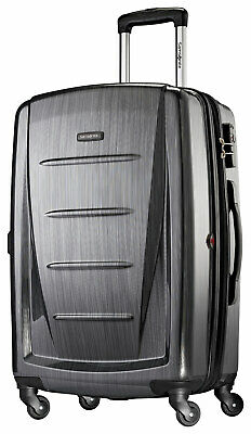 View Details Samsonite - Winfield 2 24  Hardside Spinner Suitcase - Charcoal • 167.99$