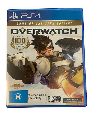 AU23.95 • Buy Overwatch Game Of The Year Edition (PS4) Sony Playstation 4 | TRACKED POST