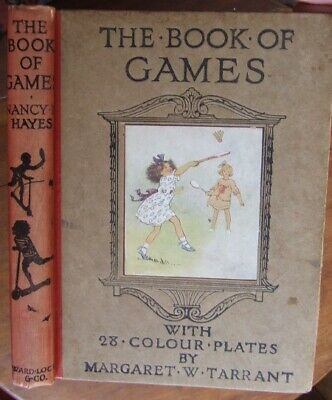 £65 • Buy Margaret Tarrant  The Book Of Games . Colour Plates. 1920.