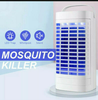 £5.49 • Buy Electric Insect Mosquito Fly Killer Bug Zapper UV Home Indoor Pest Catcher Trap