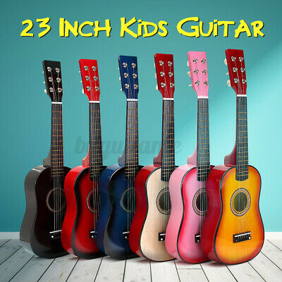 AU28.99 • Buy 23 Inch Acoustic Guitar 6 String Musical Instrument For Kids Xmas Birthday Toy