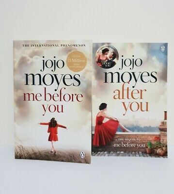 AU19.95 • Buy Jojo Moyes X 2 Me Before You And After You Medium Paperbacks