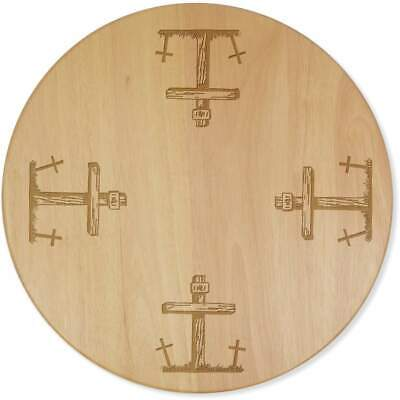 £24.99 • Buy 'Wooden Grave Posts' Lazy Susan Rotating Turntable (LA00014262)