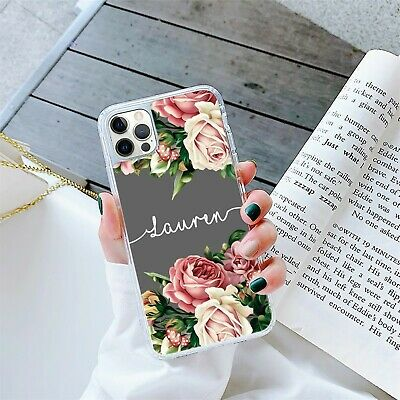 AU12.69 • Buy Personalised Marble Phone Case Cover Gel For Apple Samsung Initial Name - 270-4