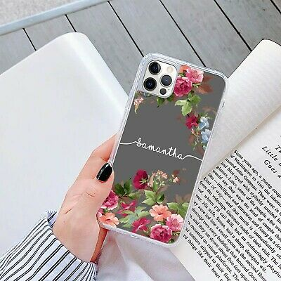 AU12.69 • Buy Personalised Marble Phone Case Cover Gel For Apple Samsung Initial Name - 270-8