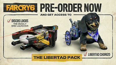 AU9.20 • Buy (Xbox One) (PS4) (PS5) Far Cry 6 The Libertad Pack DLC PLAYSTATION 4 5 XB1 PC