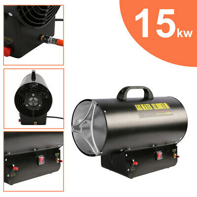 £73.99 • Buy Gas Heater Garage Fire Heater Cut-off Protection Space Industrial 15kw 58000BTU