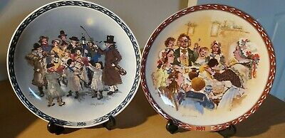 £2.95 • Buy Two WEDGWOOD Wall Plates 1986/1987 John Finnie Victorian Collection. Queens Ware