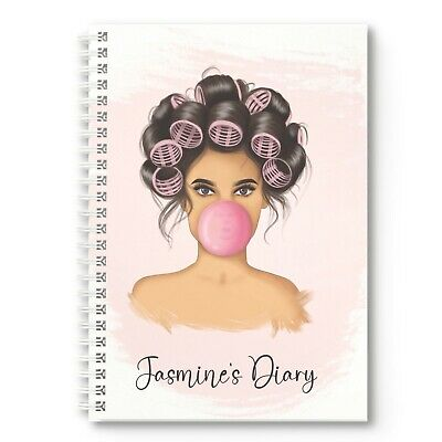 £11.95 • Buy Personalised Diary Bubble Gum Any Month / Year Start, Planner, 2022 2023 2024