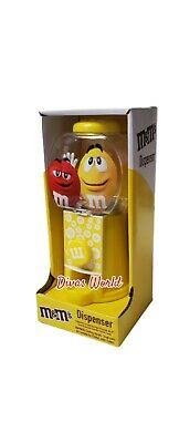£8.92 • Buy M&Ms Sweet Candy Dispenser Yellow