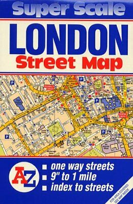 £3.95 • Buy Super Scale Map Of London (Map), Geographers' A-Z Map Company, Used; Good Book