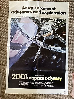 £75 • Buy 2001 A SPACE ODYSSEY POSTER USA. 2nd Print Run