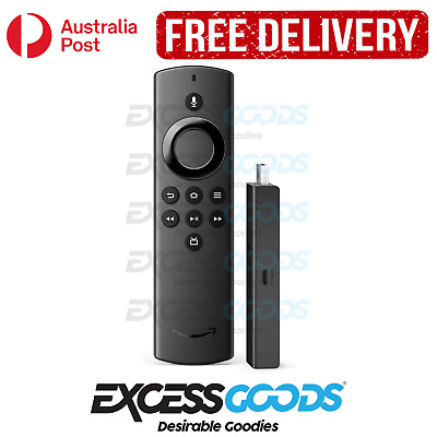 AU58.95 • Buy Amazon Fire TV Stick Lite Remote With Alexa Voice HD Streaming Device - New
