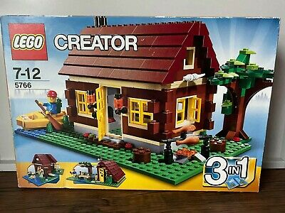 £30.50 • Buy New LEGO Creator 3 In 1 LOG CABIN Boxed Set Rare, Retired From 2011 House Sealed