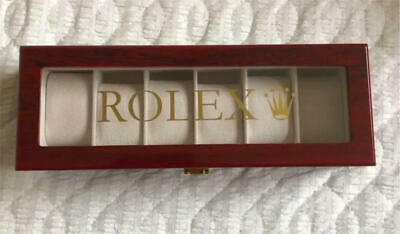 £272.89 • Buy Rolex Watch Case 6 Pieces Storage Collection Display Box Luxury  Japan Shipping