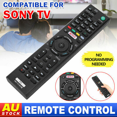 AU12.85 • Buy Wireless Universal TV Remote Control Replacement HD LED For Sony BRAVIA NETFLIX