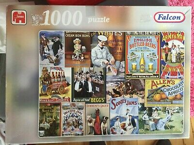 £3 • Buy 1000 PIECE JIGSAW Falcon De Luxe Puzzle.   Food And Beverages