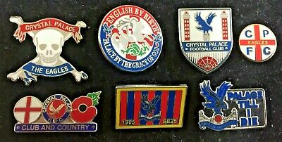£4.99 • Buy Joblot Collection Of 7 Crystal Palace  Enamel Pin Badges