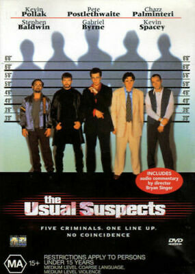 AU9.95 • Buy The Usual Suspects - Kevin Spacey, Gabriel Byrne, Pete Postlethwaite - DVD