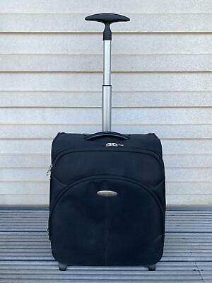 £39.90 • Buy Samsonite SMALL Cabin Size Luggage Upright Trolley Suitcase BLACK