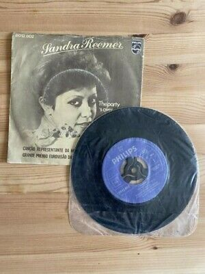 £4.99 • Buy Eurovision Netherlands 1976 - Sandra Reemer - The Party's Over - 7  PS G/VG
